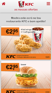 KFC Portugal- screenshot thumbnail