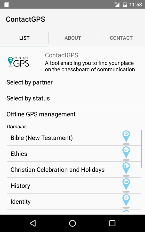 ContactGPS- screenshot