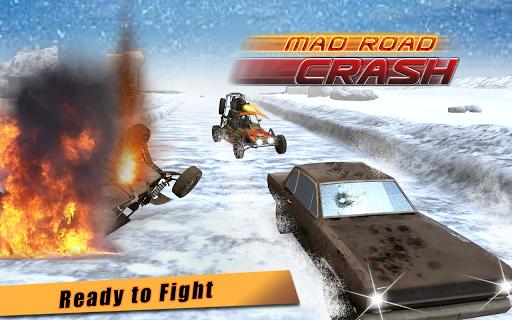Mad Furry Road Crash