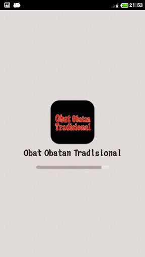 Obat Obatan Tradisional
