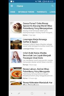 Palembang Blog Native for PC-Windows 7,8,10 and Mac apk screenshot 1
