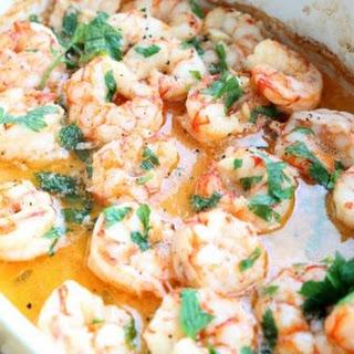 Baked Butter Garlic Shrimp Recipe