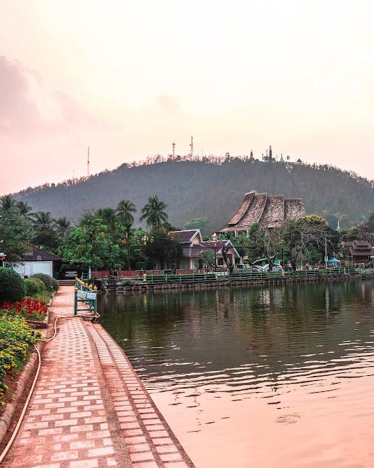 sungai di mae hong son