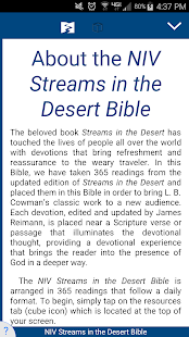 NIV Streams in the Desert - náhled