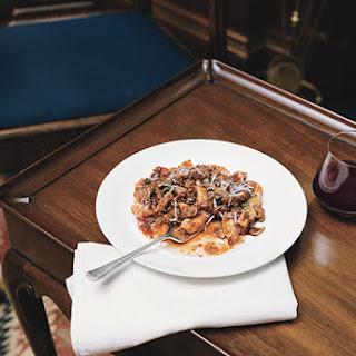 Potato Gnocchi with Pork and Wild Mushroom Ragù Recipe