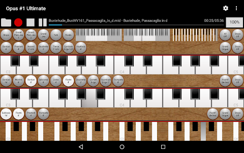 Opus #1 Ultimate-Organ Console screenshot 6