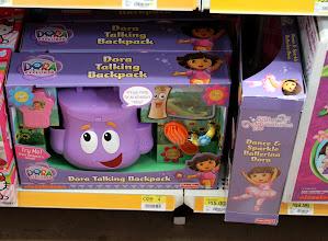 Photo: Dora's Backpack and Ballerina Dora...