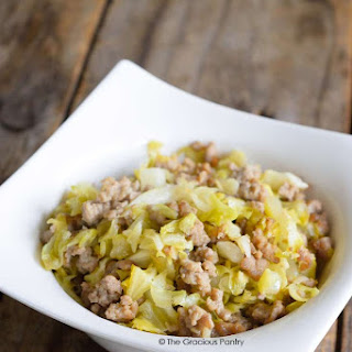 Clean Eating Cabbage Hash.