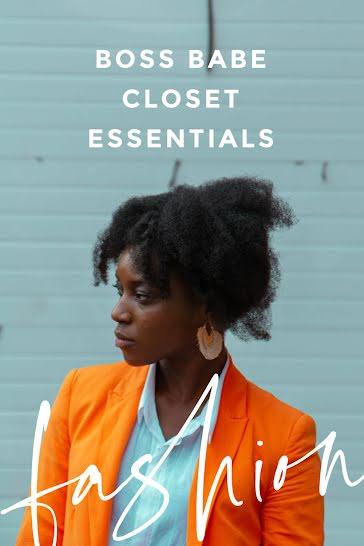 Closet Fashion Essentials - Pinterest Pin Template