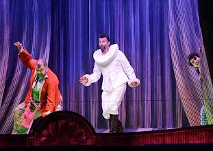 Photo: Salzburger Osterfestspiele 2015: I PAGLIACCI. Premiere 28.3.2015, Inszenierung: Philipp Stölzl. Dimitri Platanias, Jonas Kaufmann. Copyright: Barbara Zeininger