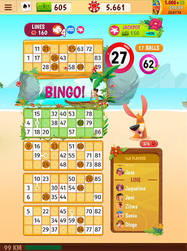 Praia Bingo - Bingo Games + Slot + Casino 28.16 screenshots 24