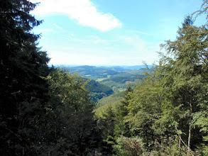 Photo: Blick von der Sackpfeife im Rothaargebirge