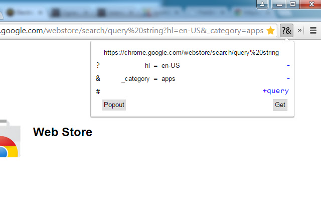 Search API Query String Parser