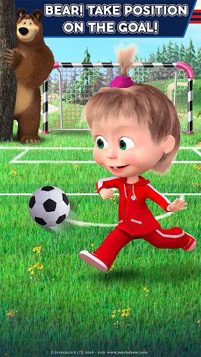 Masha and the Bear: Football Games for kids 1.3.7 screenshots 8