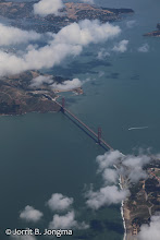 Photo: Golden Gate from plane