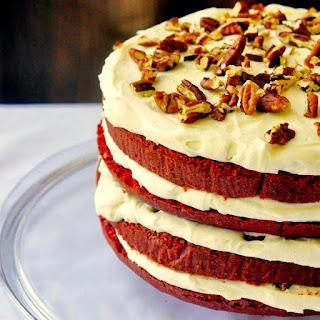 The Best Red Velvet Cake.