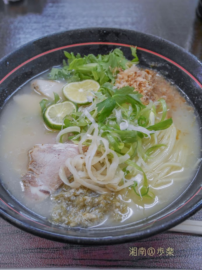 創作麺処 スタ☆アト 冷やし 鯛と鯛煮干し@900:大盛 鯛がほのかに香る