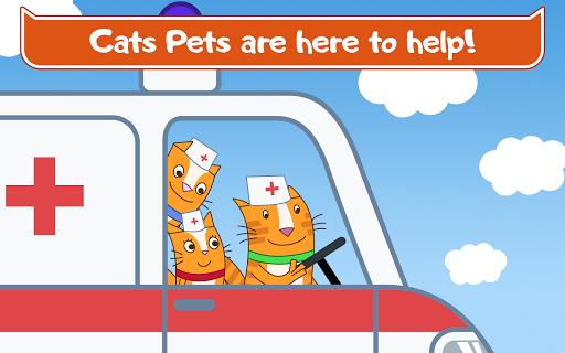 Cats Pets Animal Doctor Games for Kids! Pet doctor  screenshots 8