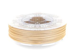 metallic and wood filament