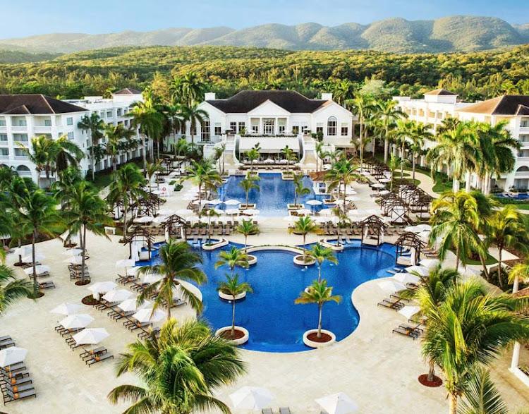 The five-star Hyatt Zilara Rose Hall in Montego Bay, Jamaica.