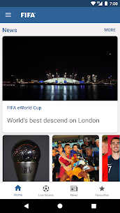 FIFA Tournaments, Soccer News & Live Scores 1