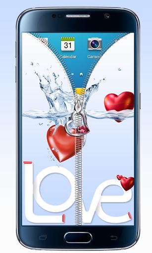 個人化必備免費app推薦|ラブハートジッパー画面のロック線上免付費app下載|3C達人阿輝的APP