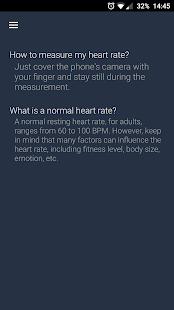 Accurate Heart Rate Monitor Screenshot