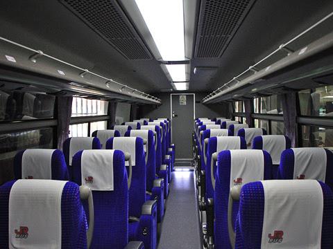 JR九州バス「広福ライナー」 4554 車内