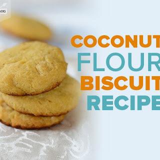 Coconut Flour Biscuit.