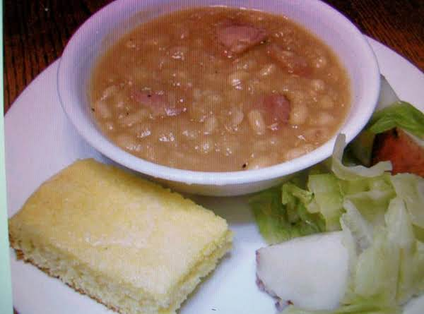 Beans And Ham For The Crock Pot By Freda