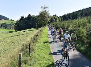 Photo: Am 30. August startete die BürgerRadtour 2015. Über dier Lenneroute führte die 1. Etappe von Schmallenberg über Saalhausen bis Lennestadt-Meppen.