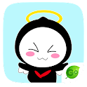 GO Keyboard Hula Sticker icon