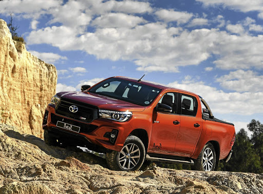 The Toyota Hilux Dakar Edition is the first to feature a facelift that will debut on other models. Picture: TOYOTA