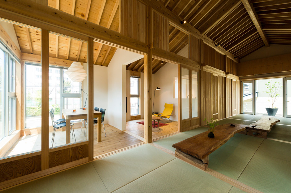 Inari House of TOKMOTO architectures | source: dezeen.com