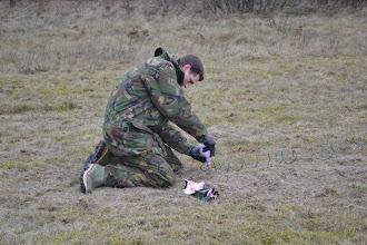 Photo: Voorbereidingen voor de ontploffing
