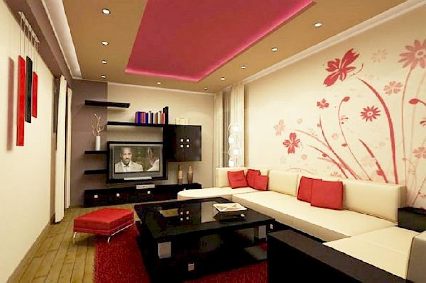 Teen Bedroom Wall Decoration Ideas Street Dance Theme Amazing - Wall paint designs for living room