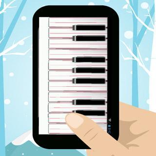 クリスマスピアノ