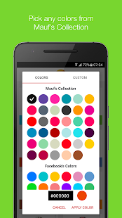 Mauf - Messenger Color & Emoji- screenshot thumbnail