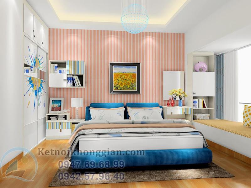 thiết kế phòng ngủ hiện đại 4