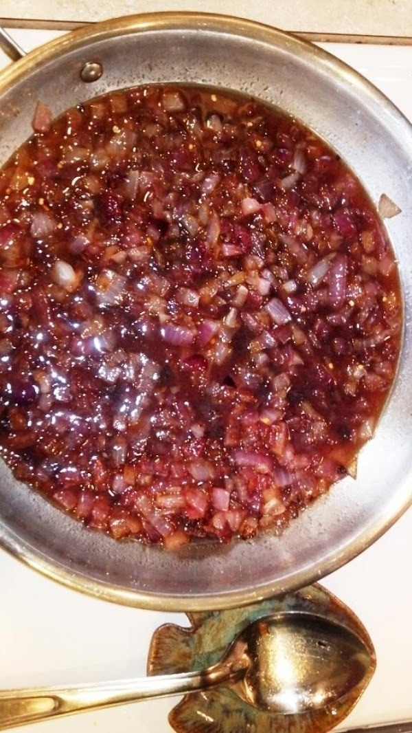 Cook, stirring constantly until thickens like a jam.