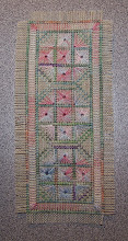 Photo: Completed 9 March 2009. Pattern from The Gift of Stitching Magazine. Stitched using left over silk threads. Stitch count: 30w x 76h.
