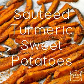 Sauteed Turmeric Sweet Potatoes Recipe