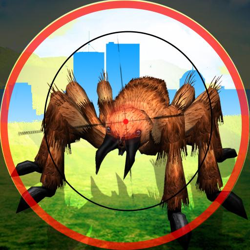 Spider City Strike - Monster Spider Shooting