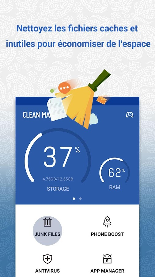 Clean Master (Boost & AppLock) – Capture d'écran
