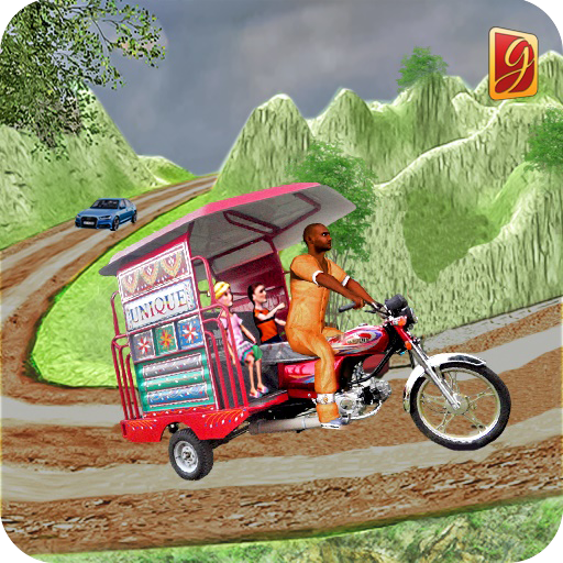 Drive Hill Chingchi Rickshaw: Offroad Driving (game)
