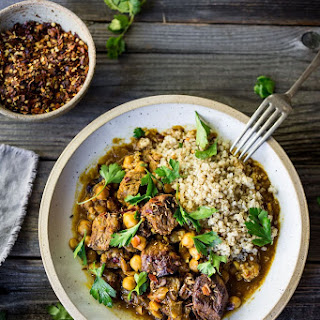 Instant Pot Middle Eastern Lamb Stew.