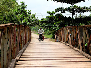 Photo: Year 2 Day 30 - Up and Over a Wooden Bridge