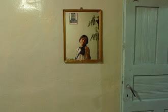 Photo: Self portrait with mirror, Bazit 2015