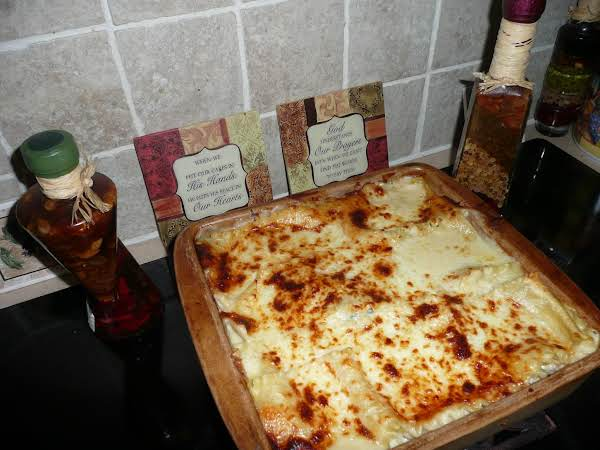 Chicken Spinach Alfredo Lasagna By Kimi