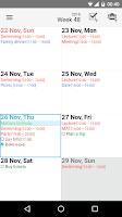 Screenshot of Day by Day Organizer